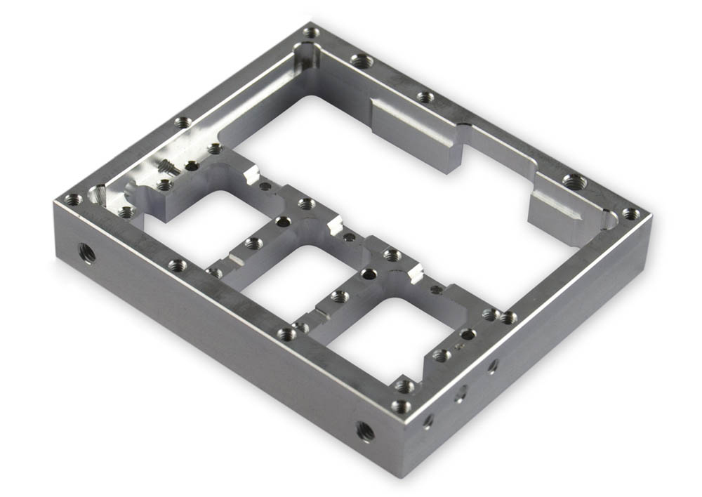 CNC parts - machined electrical enclosure by Feeds and Speeds